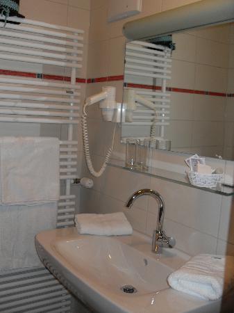 Landhaus Pension Seehof: la salle de bain