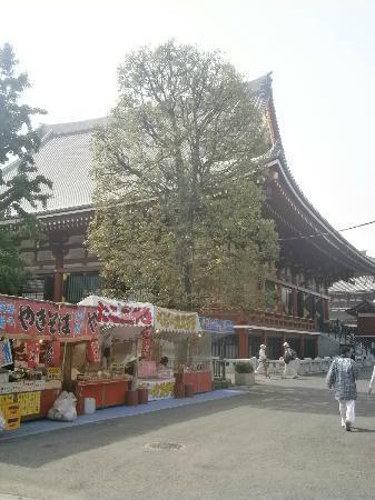 Sukeroku No Yado Sadachiyo: Temple in asakusa