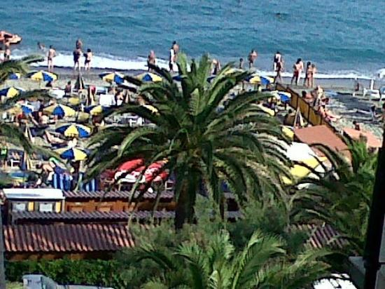 Hotel Medusa : La vista dalla mia stanza.