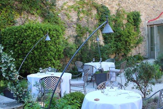 Restaurant Clair de Plume Gastronomique : La table que nous avons occupés