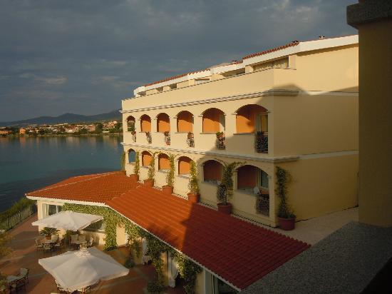 Hotel Gabbiano Azzurro: Scorcio dalla camera