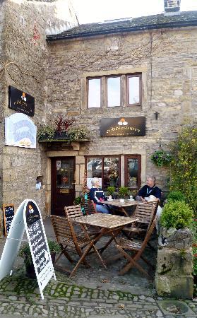 A warm welcome awaits you at Cobblestones Cafe, Grassington.