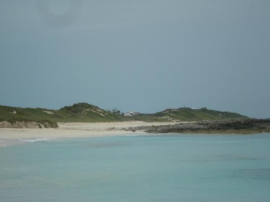 St Francis Resort : View of rooms from the south of Stocking Island