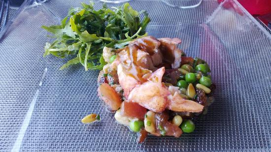 Le Bistrot du Port : Lobster salad (tasty, quite sweet)