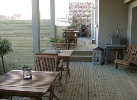 Villa Providence : terrasse