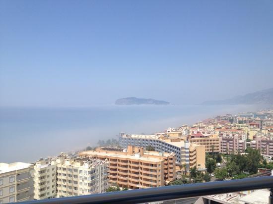 Diamond Hill Resort & Spa: view from balcony