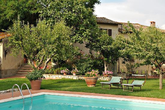 Casolare di Libbiano: giardino