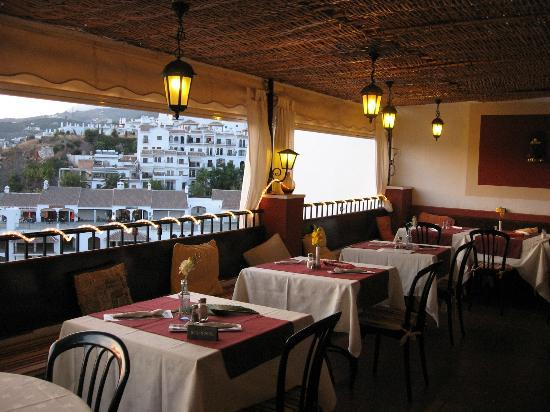 Bar & Restaurant Romantica: The view to the plaza de tres culturas