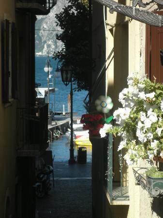 Hotel Alpino: View from our ground floor balcony/patio