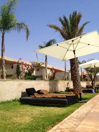 Sirayane Boutique Hotel & Spa : Sunbathing area