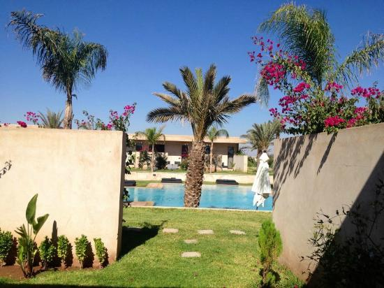 Sirayane Boutique Hotel & Spa : View from our garden
