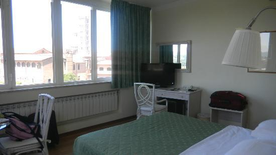 Hotel Duomo: Room 54--large picture windows with views