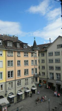 Hotel Hirschen: Room 805 view