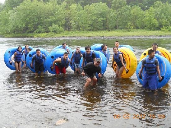 Adirondack Tubing Adventures : 1, 2, 3, Tube!!!!