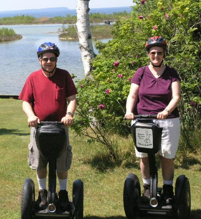 Glide N.E.W. - Segway the Door Tours: Ready to go