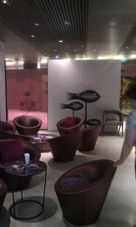 Cap d'Antibes Beach Hotel: salon