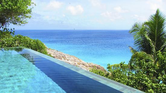 Isla de Frigate, Seychelles: Infinity pool