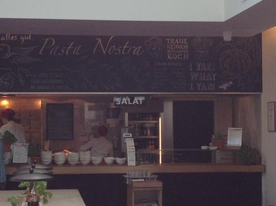 Vapiano: Pasta counter