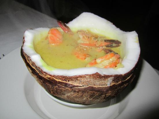 Munduk Moding Plantation: Shrimp Curry