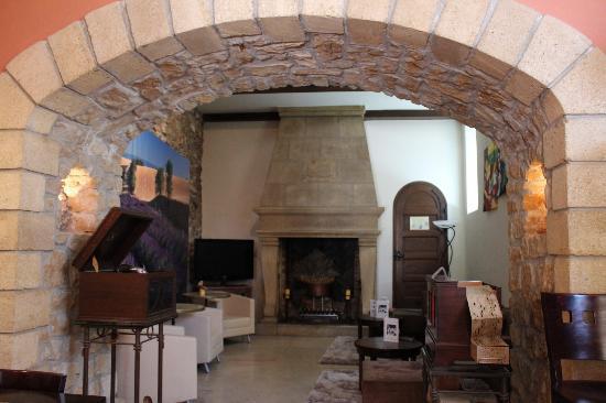 Hôtel Sévigné : Le salon du bar