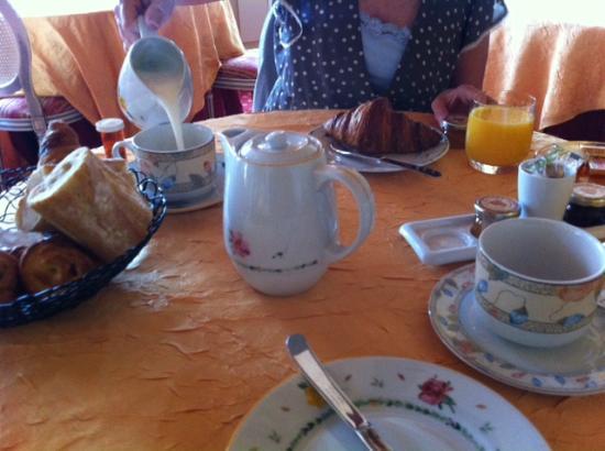 Chateau de Beaulieu : Petite dejeuner