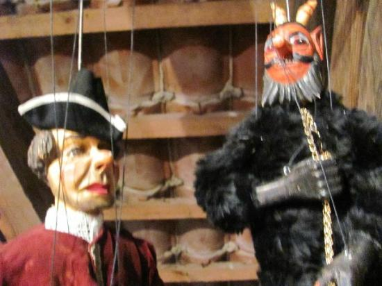 Czech Marionettes Museum : display