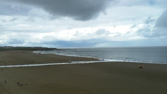 Long Sands Beach at Tynemouth.
