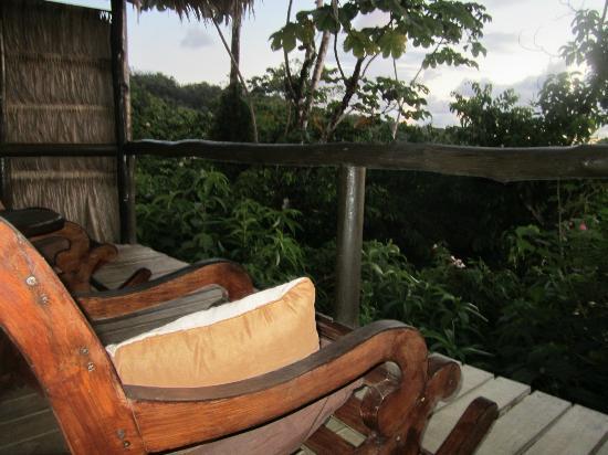 Punta Marenco Lodge: Cabina #1 porch