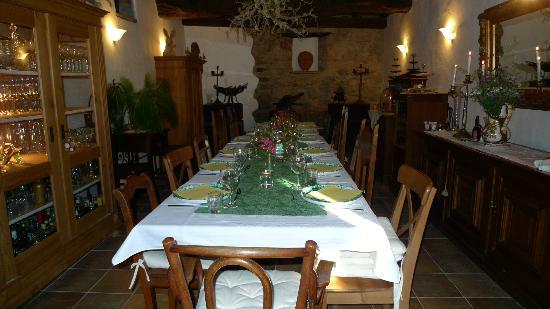 Ventena Vecchia - Antico Frantoio: Die Tafel
