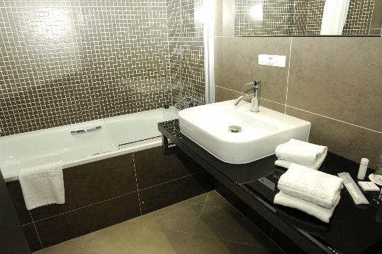 Hotel Plaza Feria : Sehr hochwertige Badezimmer