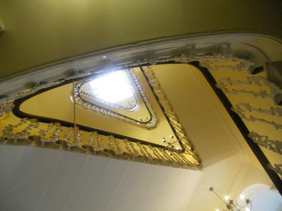 The Paddington Hotel: stairs