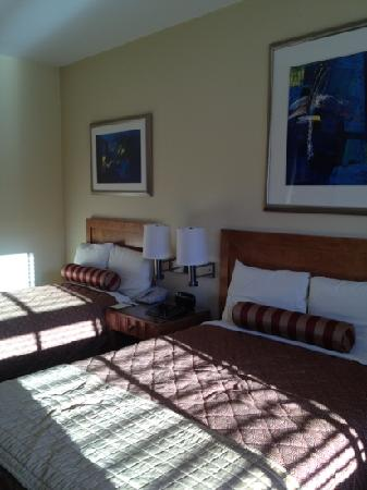 Alexander Inn: full sized bed and a spare single