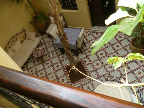 Dar Tuscia : Breakfast area