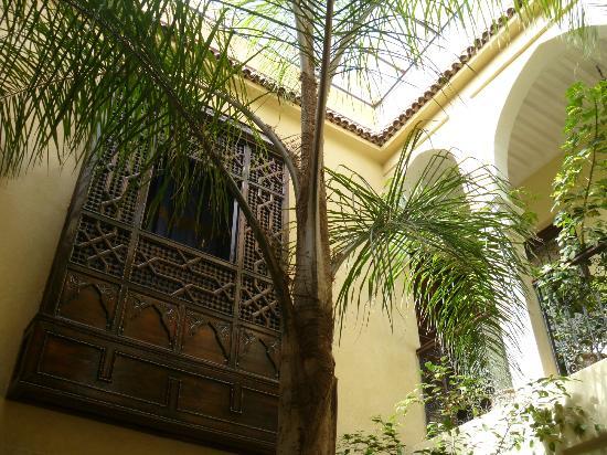 Dar Tuscia: view on Riad
