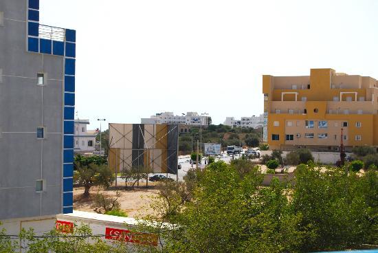 Hotel Sindbad Center : Utsikt från vårt rum
