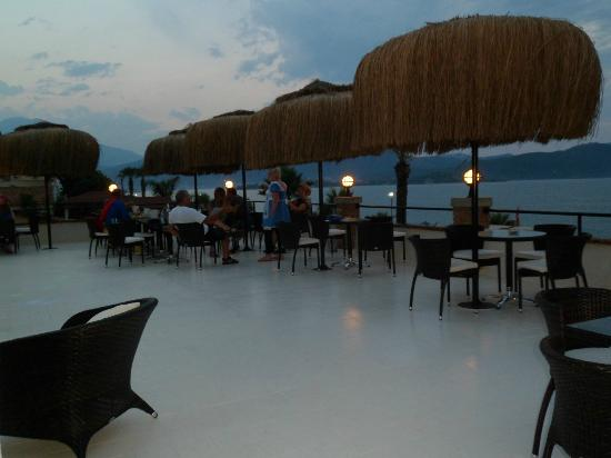 Hotel Letoon: Have a meal at the Roof Top Bar whilst watching the sun set