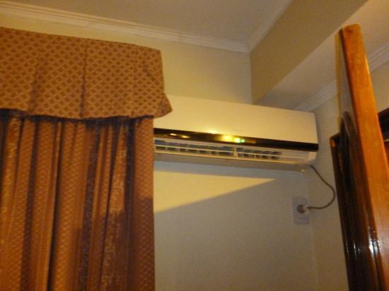 Exe Hotel Cataratas: vista de los aires de la habitacion