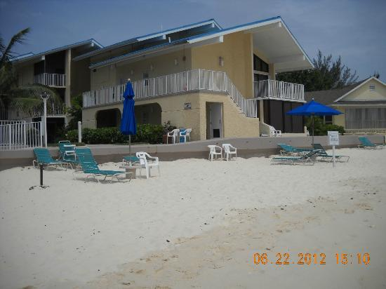 Cayman Reef Resort: beach
