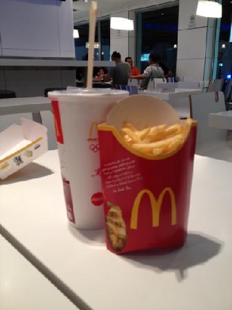McDonald's Naama Bay: chips and coke