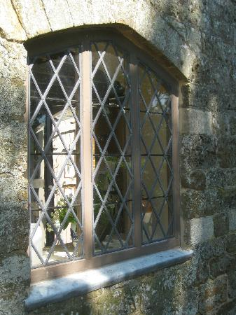 Leaded Window Panes Picture Of Canons Ashby Daventry