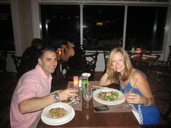 The Sea Grille @ Gurney's Inn: Us :)