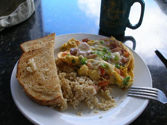Kalaheo Cafe & Coffee Company: Kahili Breakfast