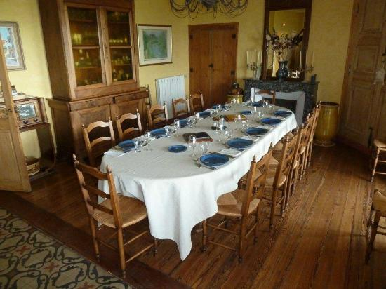 Le Clos du Buis: Main dining / breakfast area