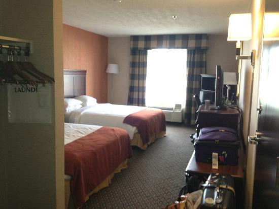 Holiday Inn Express Hotel & Suites Chambersburg: view from entrance