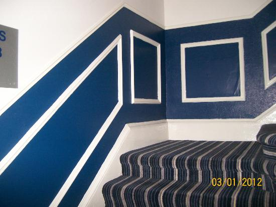 Piries Hotel: escaleres