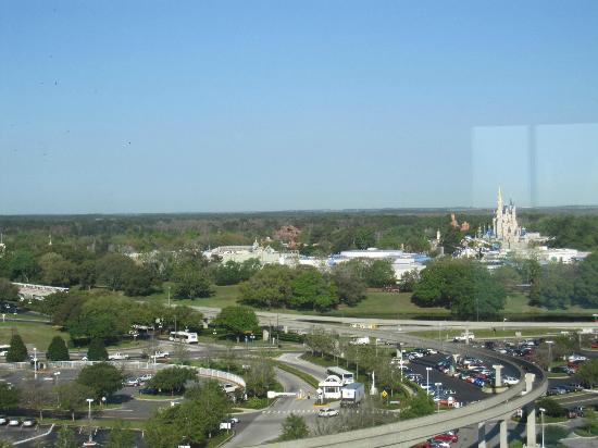 Bay Lake Tower at Disney's Contemporary Resort: Love the view