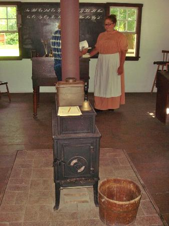 Historic Cold Spring Village: One-room schoolhouse