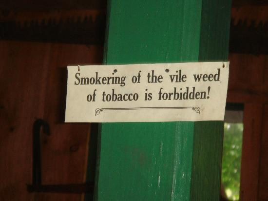 Historic Cold Spring Village: Love this sign...