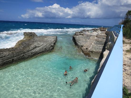Stella Maris Resort Club : natural rock pool