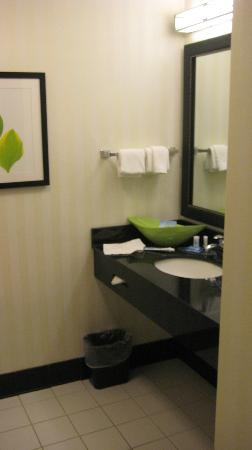 Fairfield Inn & Suites Fort Pierce: bagno